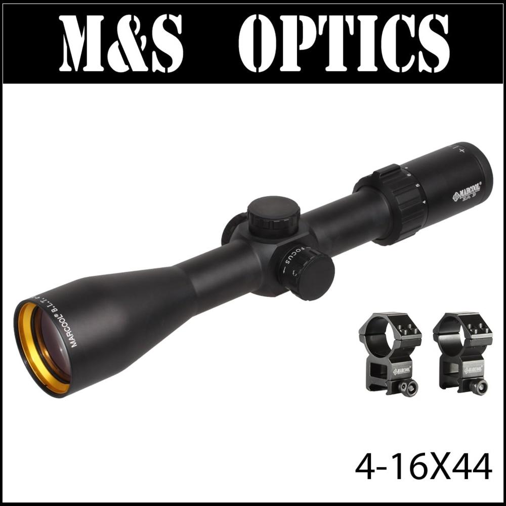 MARCOOL ALT 4-16X44 Optika anësore e fokusit Sfera e pushkës së - Gjuetia