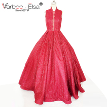 vestido de novia vintage 2018 Sexy Strapless Ball Gown Wedding Dresses Robe De Mariage Romantic Tulle red Wedding Dress burgundy