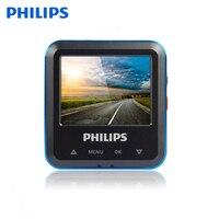 Philips оригинальный автомобиль регистраторы 110 градусов обнаружения движения видеорегистратор Камера WDR Автомобильный видео Регистраторы Full