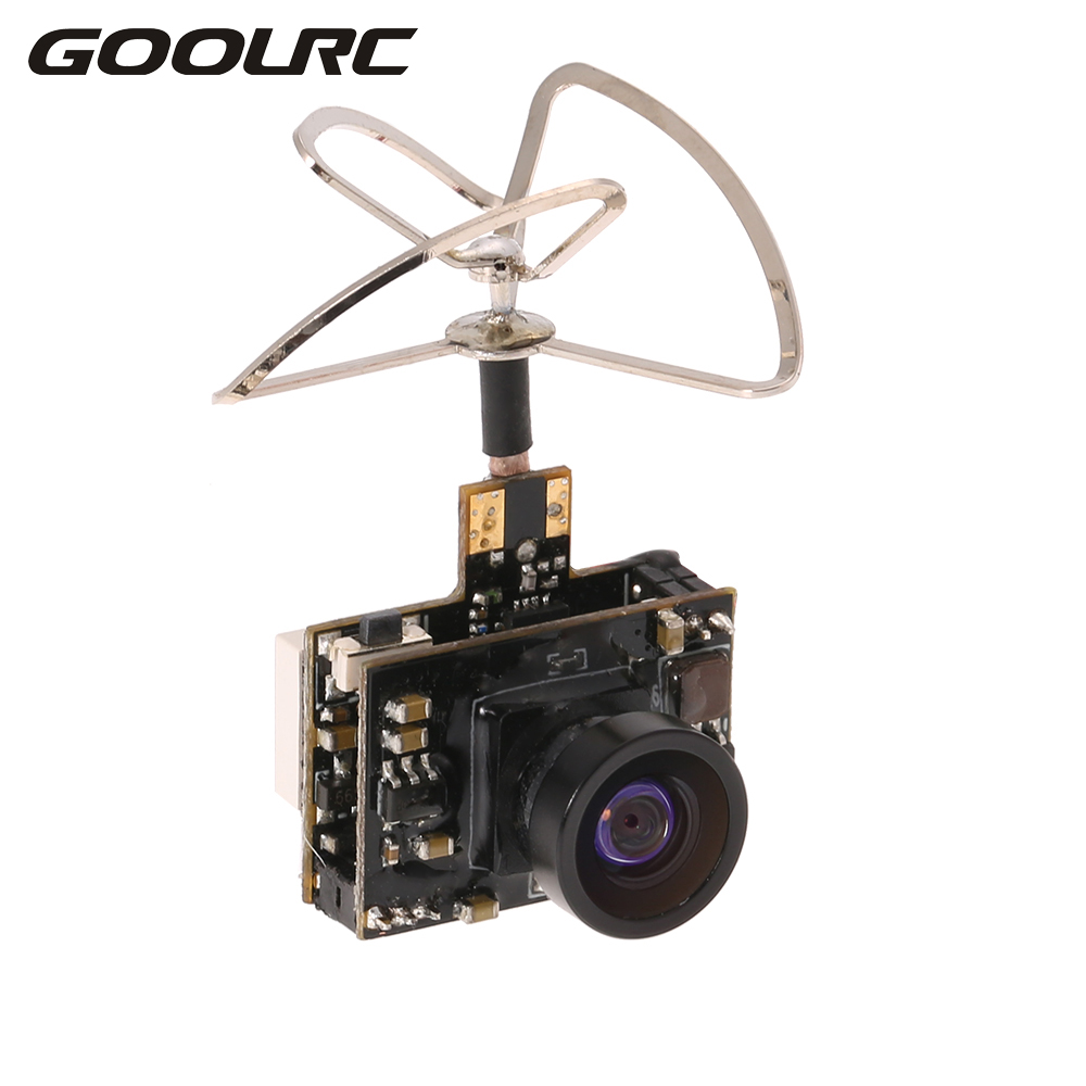 GoolRC 5.8G 40CH 25 100 200mW Transmitter Clover IPEX Antenna 800TV FPV Camera for Inductrix QX90 H36 T36 NH-010 Racing Drone eachine ts5840 upgraded 40ch 5 8g 200mw wireless av transmitter tx for fpv multicopter