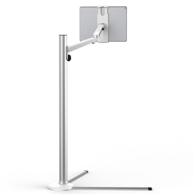 5 Set Mobiele Tablet Floor Stand Bed Sofa Mobiele Telefoon Tabletten Houder Arm Stand Voor Iphone Ipad Air Mini Ipad Pro Hoogte Verstelbare