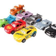 Disney Pixar тачки 3 игрушки для детей Молния Маккуин Высокое качество Пластиковые тачки игрушки модели персонажей из мультфильмов детские игрушки рождественские подарки