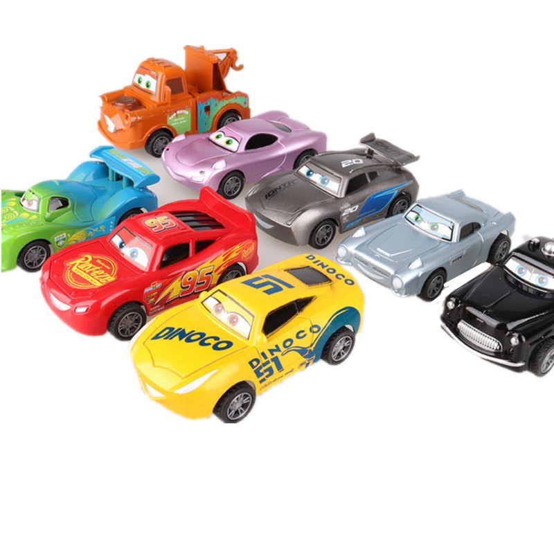 Disney Pixar Cars 3 Toys For Kids LIGHTNING McQUEEN High Quality Plastic Cars Toys Cartoon Models  Kid Toys Christmas Gifts