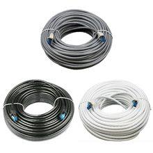 Кабель Cat5e LAN Cable utp Cat 5 металлический разъем RJ45 сетевой Соединительный кабель 5, 10 м, 15 м, 20 м для PS2 ПК компьютерный маршрутизатор