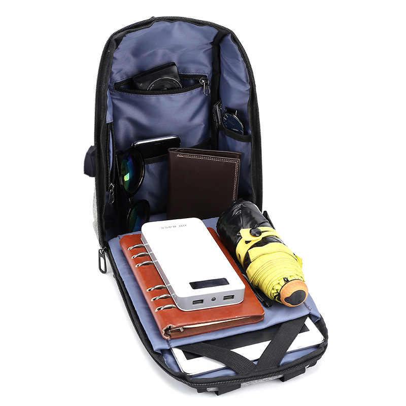 Saco de carregamento usb saco de peito masculino cross-border reflexivo escola bolsa de ombro pacote diagonal mensageiro bolsa de viagem masculino