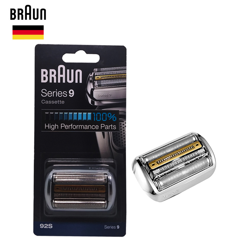Braun 92s Series 9 Foil Cutter Replacement Head Cassette Electric Shaver Razor Blade 9030s 9040s 9050cc
