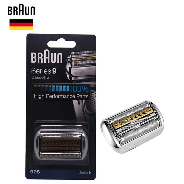 Braunn 92s シリーズ 9 箔 & カッター交換ヘッドカセットシェーバーカミソリ刃 9030s 9040s 9050cc 9090cc 9095cc