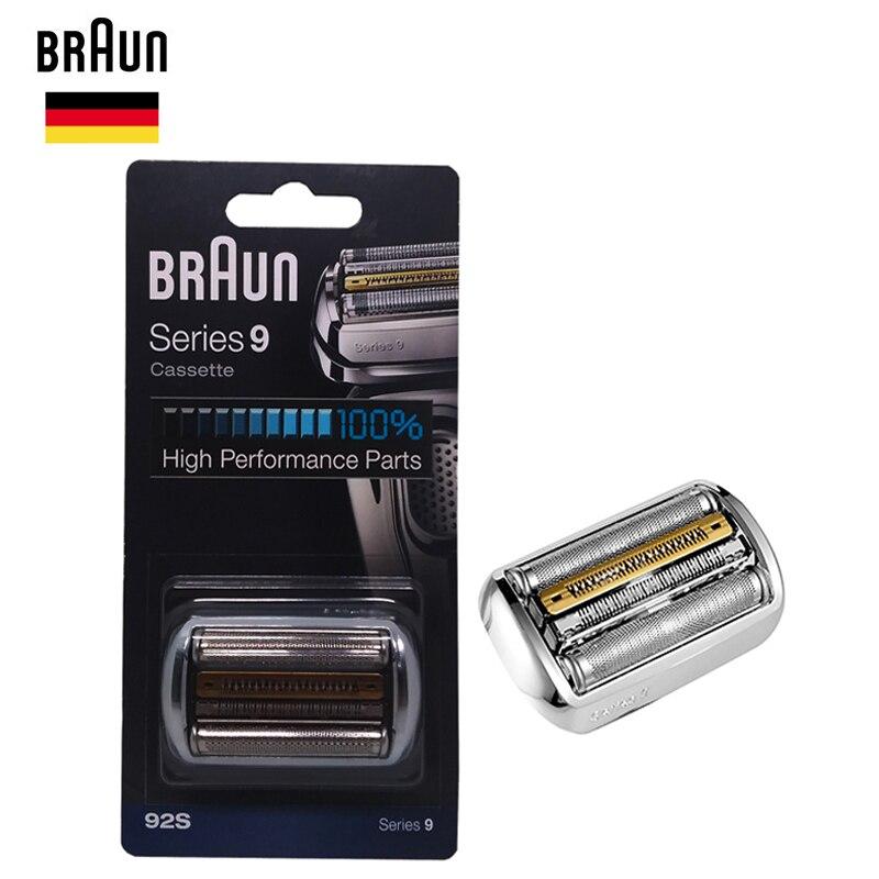 Braunn 92s Series 9 Foil & Cutter Replacement Head Cassette Shaver Razor Blade 9030s 9040s 9050cc 9090cc 9095cc-in Razor from Beauty & Health    1