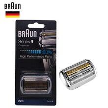 Braunn 92s série 9 folha & cortador cabeça de substituição cassete lâmina de barbear 9030s 9040s 9050cc 9090cc 9095cc