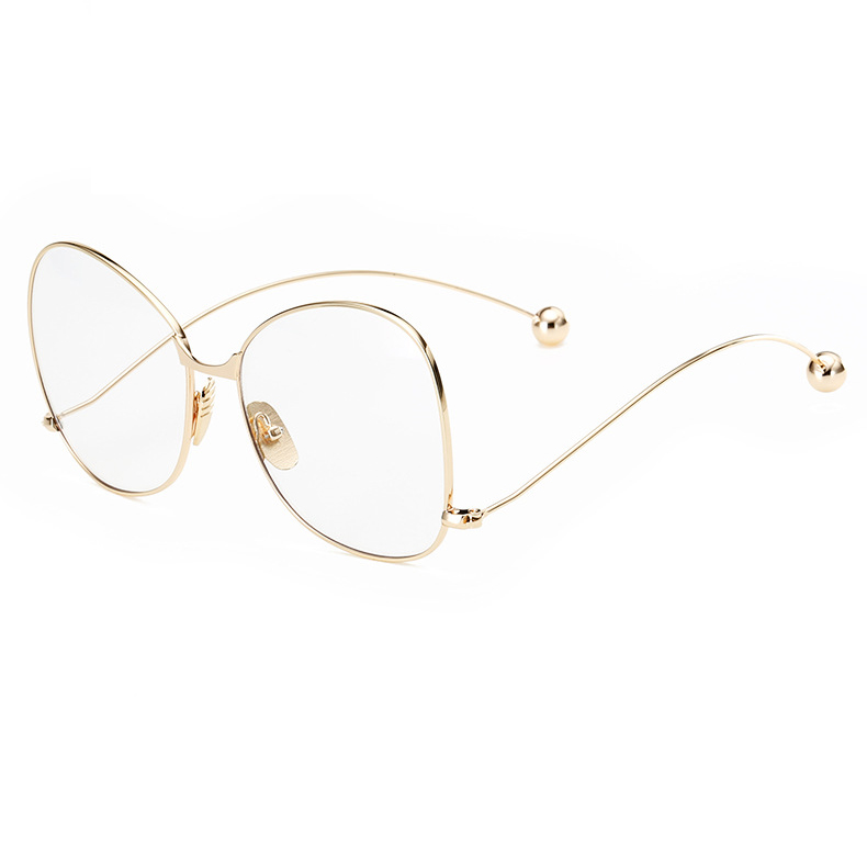 BAMONA Neue Mode Persönlichkeit Brillen Rahmen Frauen Contort Bein ...