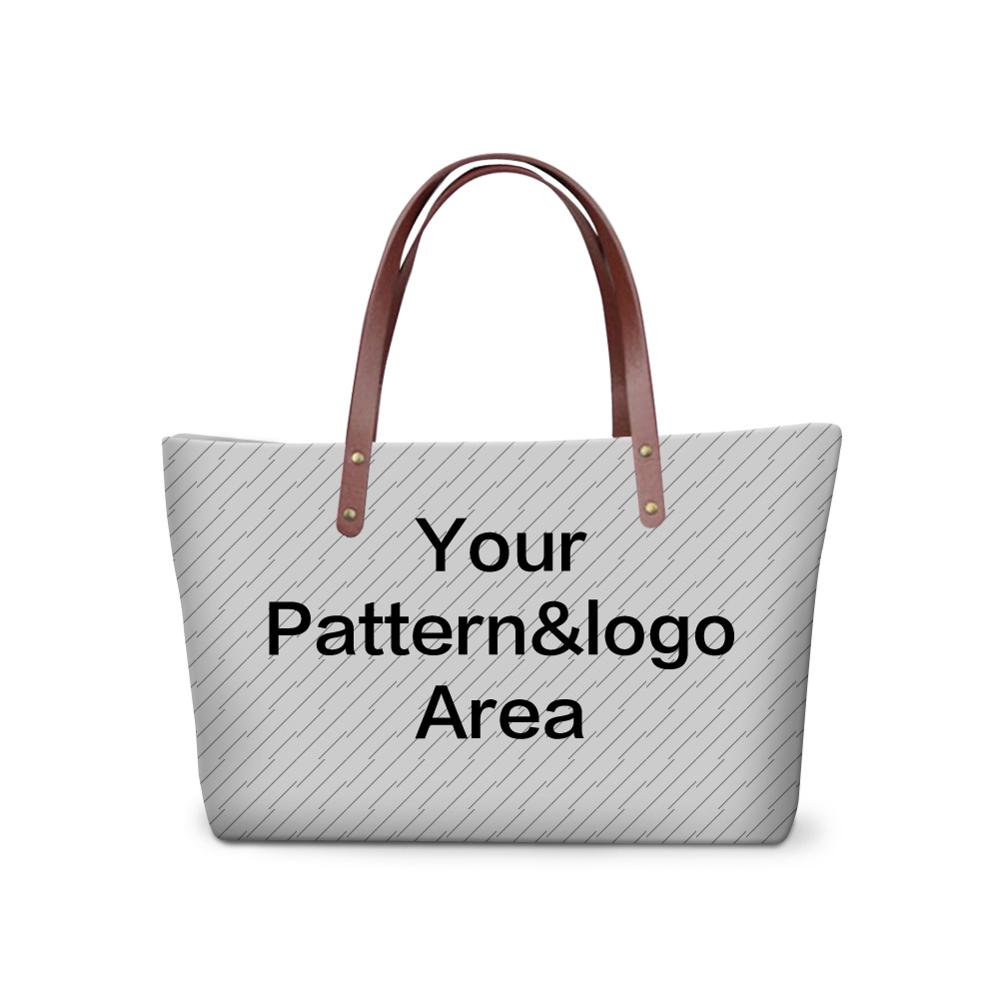 Cute 3d Custom Pattern For Women Large Tote Bag Personalized Shoulder Bags S Femal Hand Organizer In From Luggage On