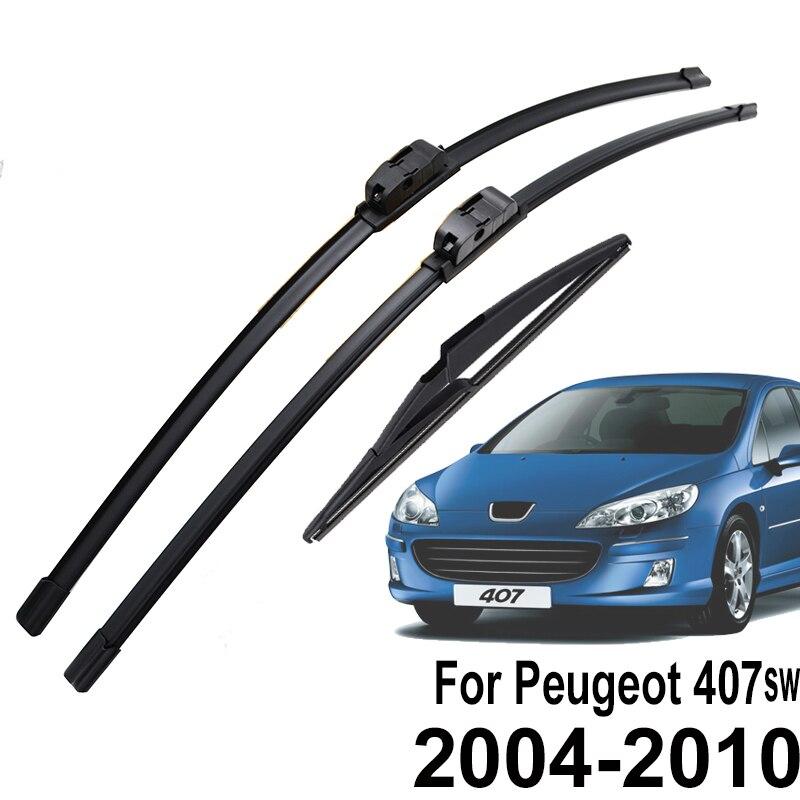 Щетки стеклоочистителя Misima для Peugeot 407 SW Estate 2004 2005 2006 2007 2008 2009 2010