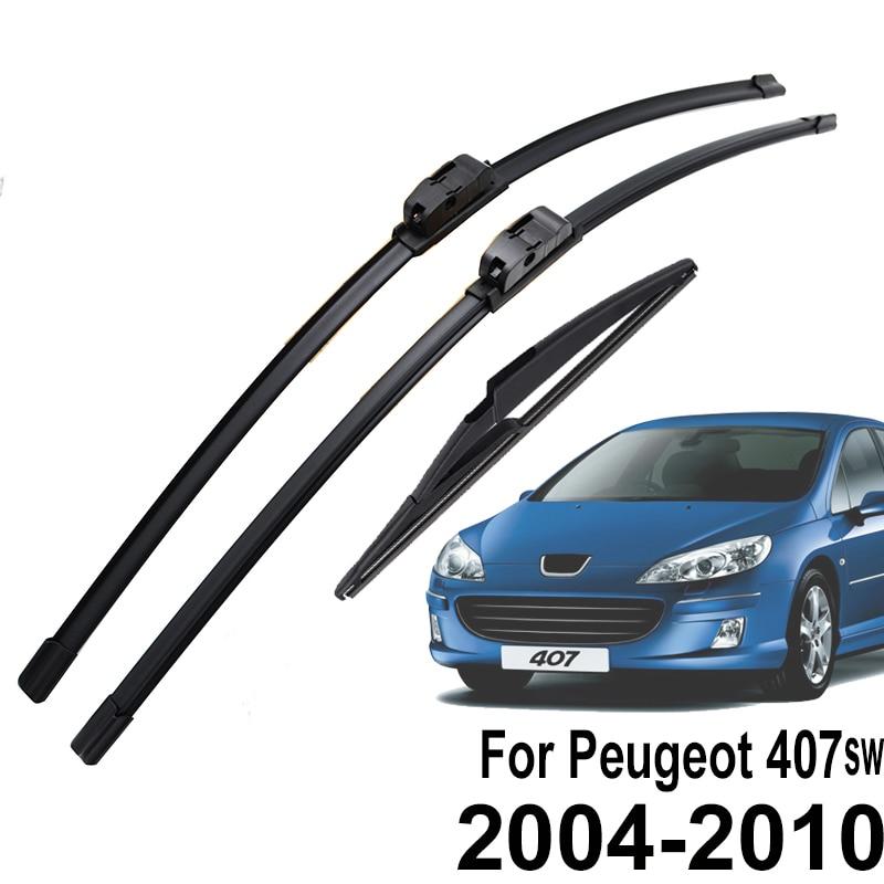 Щетки стеклоочистителя Misima для Peugeot 407 SW Estate 2004 2005 2006 2007 2008 2009 2010|Стеклоочистители|   | АлиЭкспресс