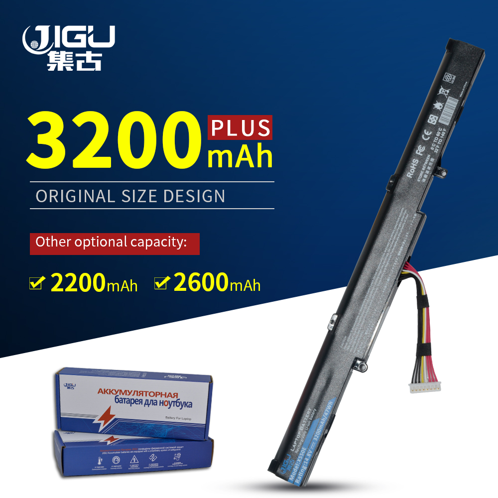 JIGU New Laptop Battery A41-X550E For ASUS X450 X450E X450J X450JF X751L A450J A450JF A450E F450E  4CELLS