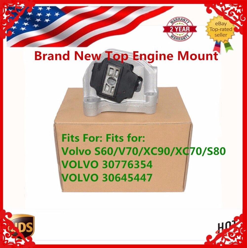 TOP ENGINE MOUNT BUSH Brand New For Volvo S60, V70, S80, XC70, XC90 D5  DIESEL Ref: 30776354 30645447