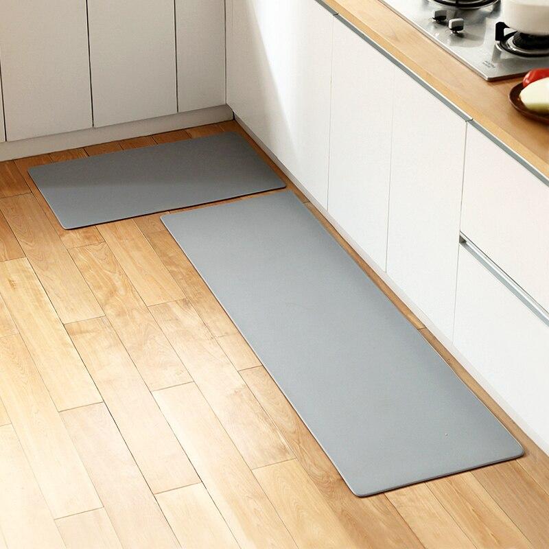 Tapis de cuisine en cuir populaire antidérapant imperméable et résistant à l'huile ménage tapis de sol long tapis de porte ensemble mx01251141