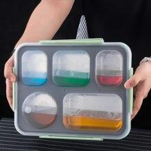 Caixa portátil do piquenique 304 do recipiente térmico do alimento do saco dos utensílios de mesa/isolação especificações múltiplas de aço inoxidável