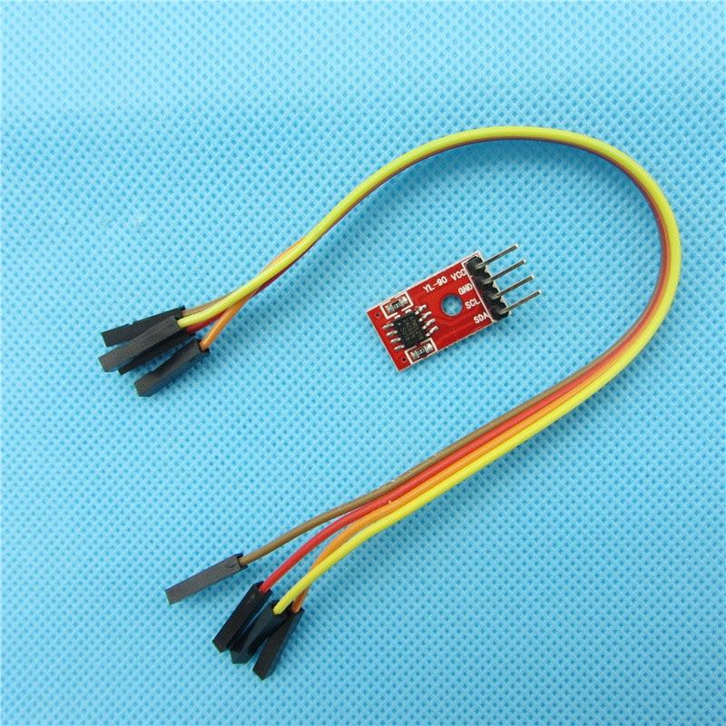 AT24C02 IIC/I2C Interfaz de Puerto Serie Del Módulo de Memoria EEPROM Para DIY D