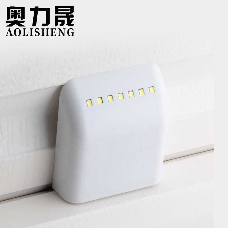 LED intelligente switch kastdeur licht kast licht lade lamp kledingkast licht touch kastdeur sensor licht 1 Pcs
