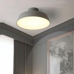 Kreatywny postmodernistyczna lampy proste macaron lampa restauracja sypialnia projektant osobowości pokrywa lampa sufitowa