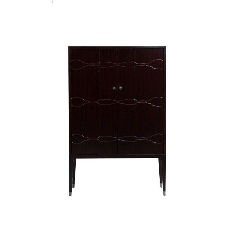Американский стиль минимализма шкаф, комод, вертикальная полоса, стол Шкаф