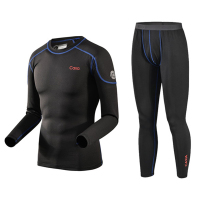 Winter Outdoor Sport Thermal Underwear Men Quick Dry Cycling Clothing Men For Ski/Riding/Climbing/Cycling Base Layers