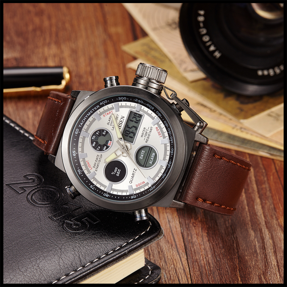 Hot Selling Original Famous Brand OHSEN Digital Sport Mens Watch Male Clock Nylon Band Fashion Diving Wristwatches For Men Gift (24)