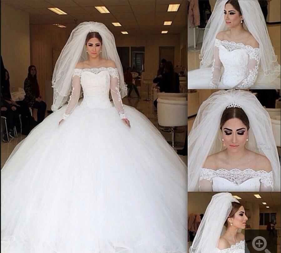 Los mejores vestidos de novia de las princesas
