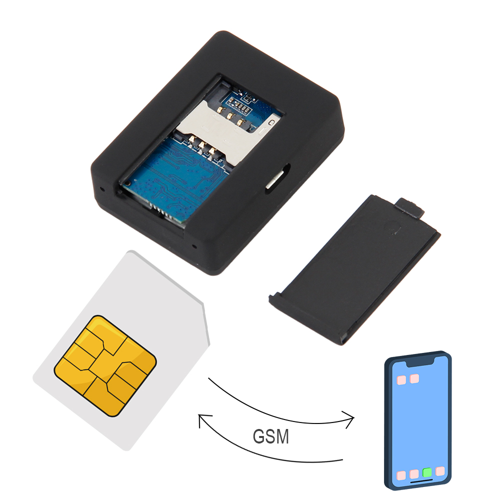N9 GSM Gps Tracker Listening Device In Acoustic Alarm Mini GSM Spy Device Voice Surveillance System Quad Band 12-15 Days(China)