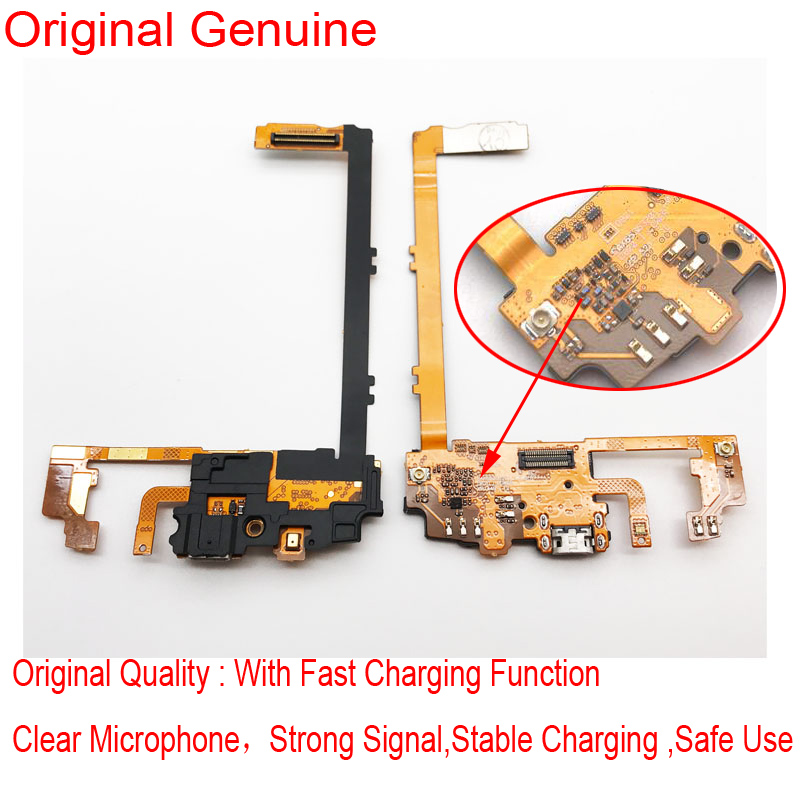 Original USB Charging Port Flex Cable Dock Connector Mic Flex Cable For LG Nexus 5 D820 D821