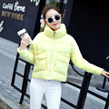 2016 New Winter Jacket Coat Women 2016 Bat Sleeve  Women Parka Short Loose Thickening Down Cotton-padded Jacket Female Outerwear