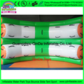 Qdis Equipo de Juegos de Agua de Atracciones inflable balancín plástico, juegos inflables de Deportes de agua de Mar Al Aire Libre balancín juguetes flotantes