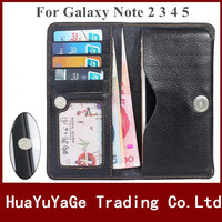 Phone Cases PU Leather Wallet Multi Card Pocket Ultra Thin Case Universal 6 Inch Cover For