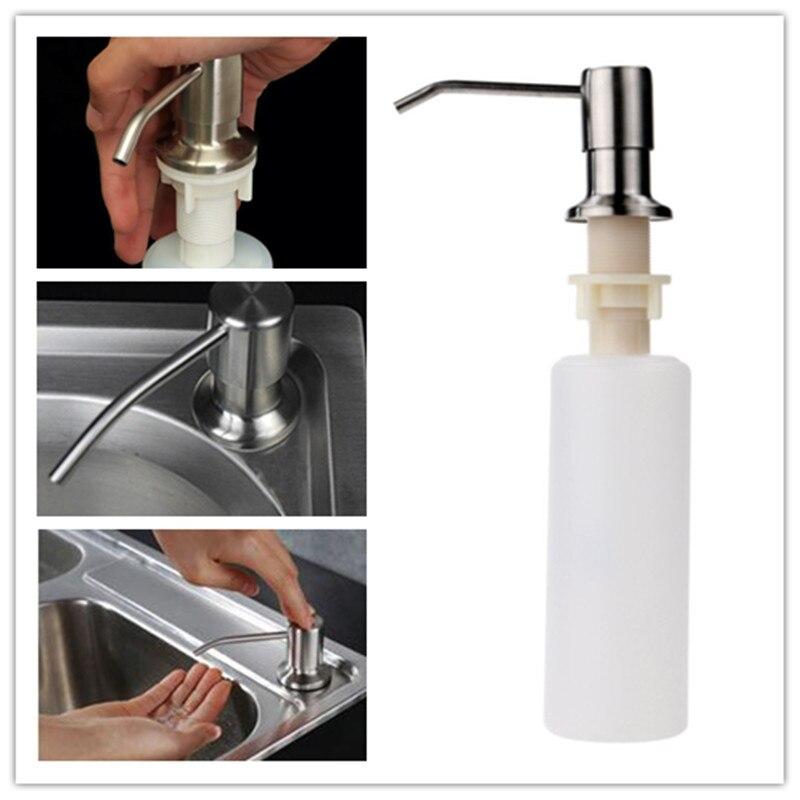 Kitchen Sink Soap Dispenser Detergente Liquid Soap Bottle White ...
