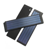 Flexible Solar Panel 2W 6V Solar Cell Amorphous Silicon Foldable DIY Solar Charger For 3.7v Super Slim Waterproof