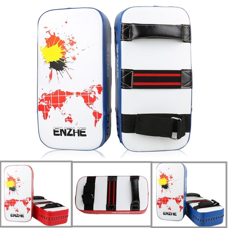 Wholesale KickBoxing Pads Colored Muay Thai Kick Boxing Pad MMA Mitts Foot Target TKD Karate Focus Pad Durable Training Target