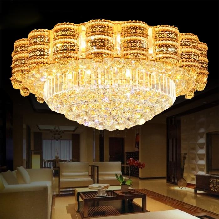 Luxe LED Kristallen lampen Woonkamer Plafondlamp Sfeer Woonkamer ...