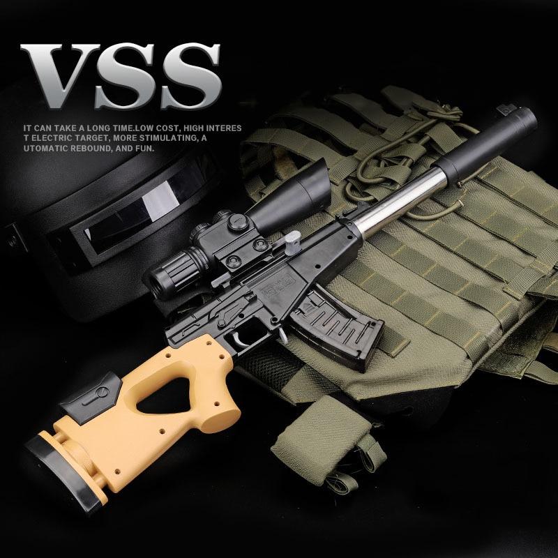 Pistolet à pistolet avec fusil de Sniper manuel chaud avec balles à eau douce Orbeez Silah Airsoft Air Armas jouets pour enfants jouant à des jeux