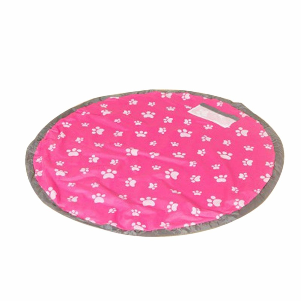Large Size Waterproof Indoor Outdoor Children Kids Travel Picnic Mat Rug Damproof Kids Toys Storage Bag Organizer NEW