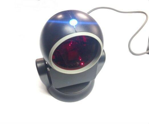 Zyxrzyl Всенаправленный сканер штрихкодов USB белый/черный штрих-кодов для розничный магазин/супермаркет