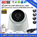 2MP 1080P AHD camera sony imx323 bnc AHD-H room Dome indoor Night Vision HD Lens 1920*1080 security CCTV cameras de seguranca