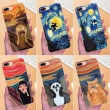 For Huawei Mate 7 8 9 10 20 P8 P9 P10 P20 P30 Lite Plus Pro 2017 Soft TPU Covers Van Gogh Starry Night Star Panda Rick Print(China)