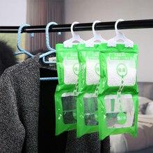 Hängen Schrank Hängen Feuchtigkeit Tasche Schrank Schrank Schrank Luftentfeuchter Trocknen Mittel Hygroskopisch Anti Form Trockenmittel Taschen