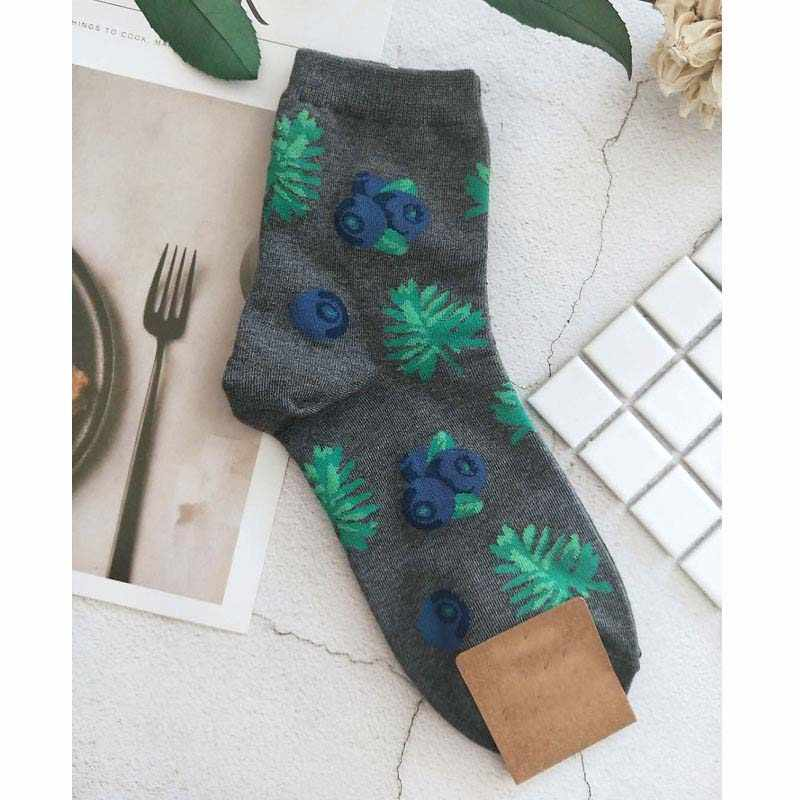 [EIOISAPRA] Leuke Jacquard/Planten Afdrukken Patroon Art Sokken Vrouwen Koreaanse Dier/Cactus Sokken Grappige Sokken Kawaii sokken Calcetines