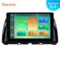 Seicane Android 8,0/8,1 10,1 Автомобильный Радио для Mazda CX 5 2012 2013 2014 2015 1Din головное устройство мультимедиа плеер с WI FI Bluetooth
