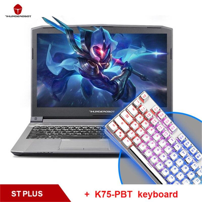 ThundeRobot ST plus Gaming Laptops Send A Keyboard As A Gift Nvidia GTX1050 Intel Core i7