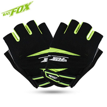 BATFOX 2017 Summer cycling gloves Half Finger Unisex Mtb Bike luva Breathable Anti-shock Sports Bicycle Gloves luva ciclismo