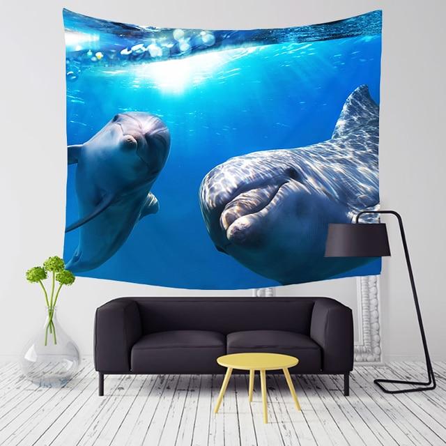 Magic Sea World Wall Tapestry 4