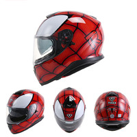 VCOROS Full Face Motorcycle Helmet Individuality YOHE 976 Double Sun Shield Lens Motorbike Helmet Fashion Couple