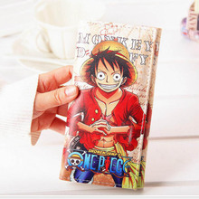 One Piece Long Mens Wallets Leather Purse Cards Holders